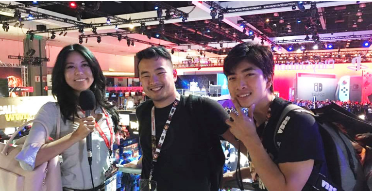 Radius Networks engineers Anh Truong and Van Phan interviewed about the proximity installation at E3.