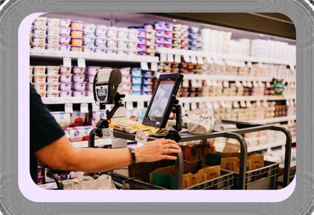 grocery store staff associate