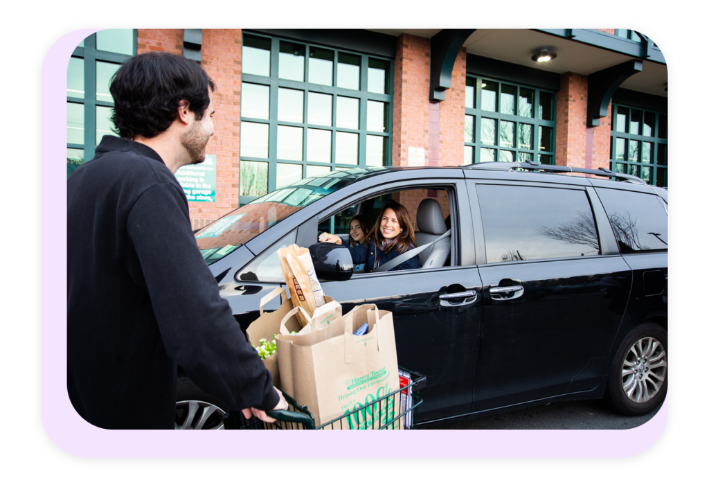 grocery store curbside order