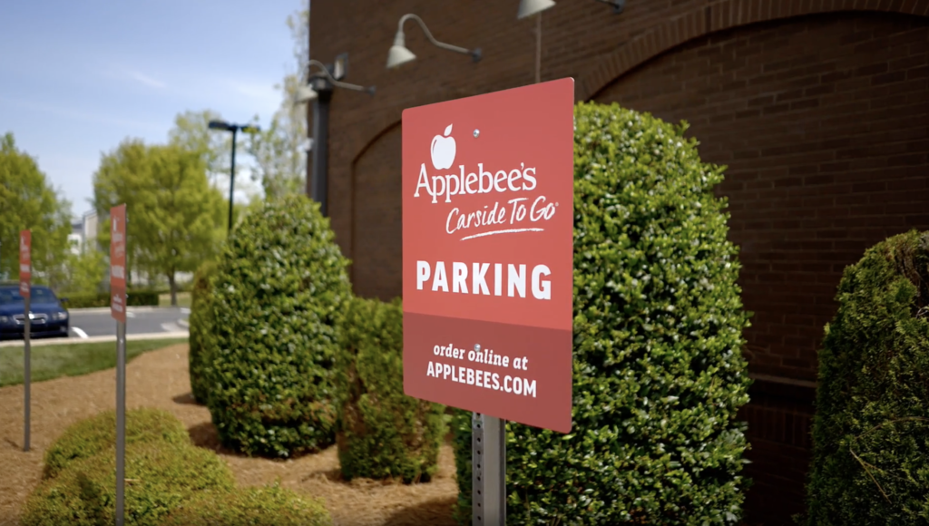 applebee's carside to go with flybuy pickup