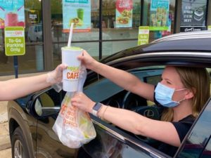 tropical smoothie cafe curbside pickup