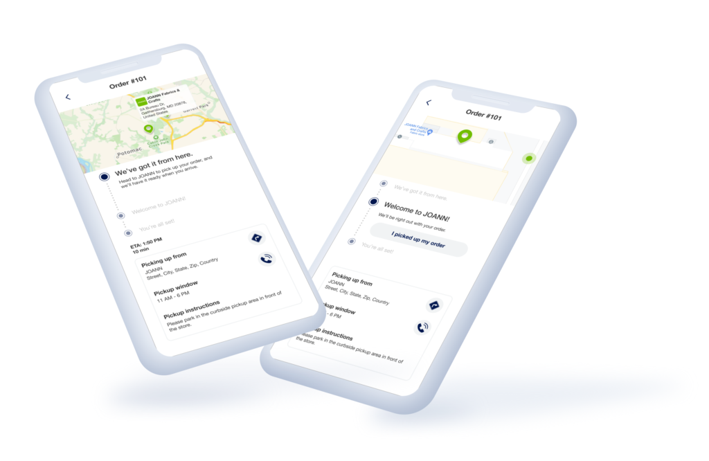 the flybuy sdk helps customers stay informed on their way to the store